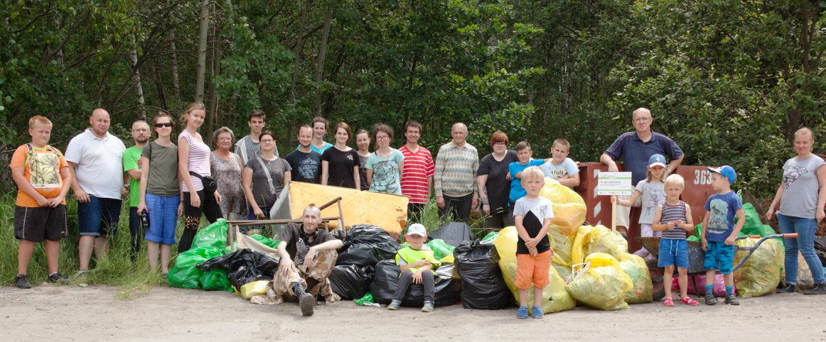 Sprzątamy dzielnice Katowic